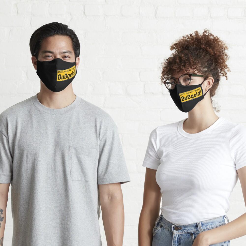 Die Maske: Dein Schutz gegen Bußgeld!
